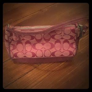 Coach Wristlet Purse Handbag